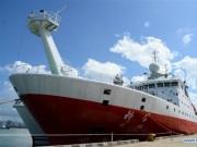 """Tàu Trung Quốc tiến sát đảo Guam, máy bay trinh sát Mỹ  """" căng mắt """"  theo dõi"""