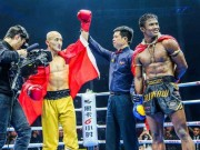"""Thể thao - """"Thánh Muay Thái"""" thắng trận 301, hẹn đấu """"Đệ nhất Thiếu Lâm"""""""