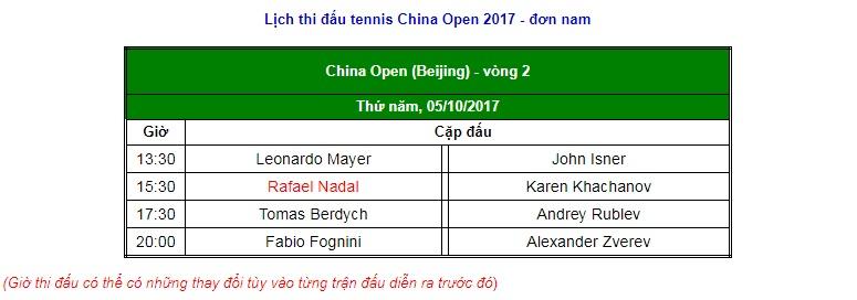 """China Open 6/10: Chờ """"Bò tót"""" Nadal trả hận """"Gã khổng lồ"""" 3"""