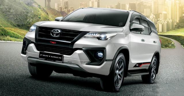 Toyota Fortuner 2017 bổ sung động cơ dầu diesel tăng áp