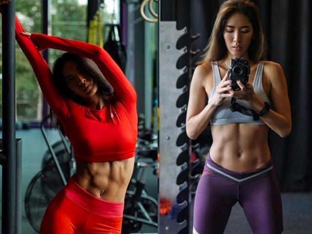 """Mốt rũ bỏ """"bánh bèo"""", khoe cơ bắp đầy sexy của phái đẹp châu Á"""