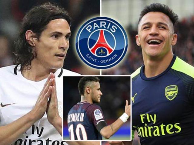 """Neymar đòi PSG mua Sanchez: """"Diệt"""" Cavani, mở lối Bóng vàng"""
