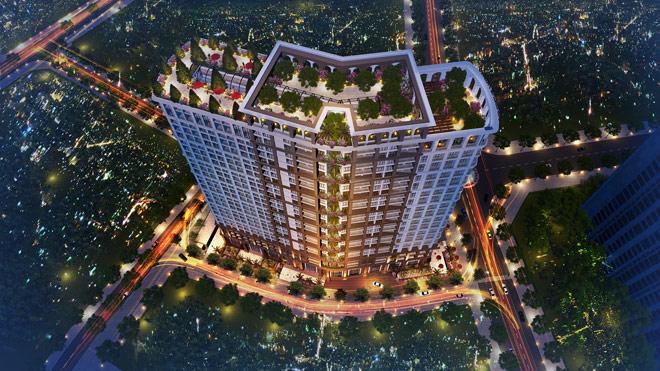 Chỉ 600 triệu đồng, sở hữu ngay căn hộ nội thất 5 sao tại quận Hoàng Mai - 1