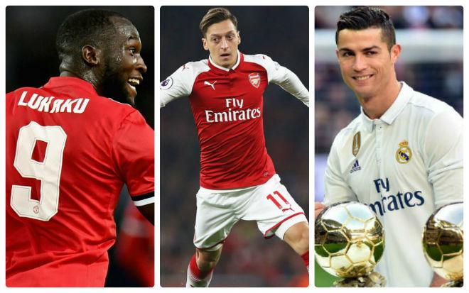 """MU – Mourinho có Ozil miễn phí: Lukaku và Ibra """"sướng"""" như Ronaldo 2"""