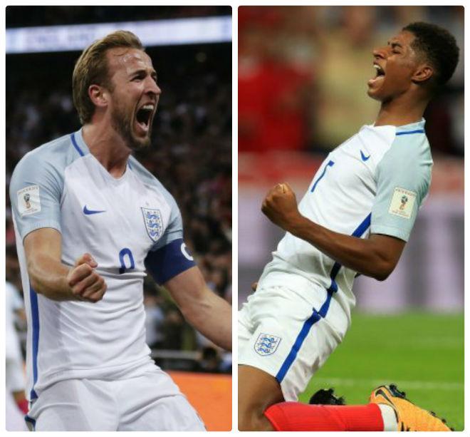 """Rashford và Kane """"lên đồng"""": ĐT Anh mơ """"hóa rồng"""" World Cup 2018 - 1"""