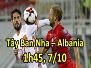 Tây Ban Nha - Albania: Uy lực  Bò tót , ma thuật Isco