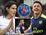 """Neymar đòi PSG mua Sanchez:  """" Diệt """"  Cavani, mở lối Bóng vàng"""