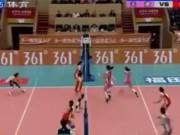 Thể thao - Bóng chuyền: Dàn chân dài Trung Quốc đôi công không tưởng