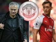 """Ozil chọn bến đỗ mới: Mourinho bối rối, MU lo Real, Barca  """" hớt tay trên """""""