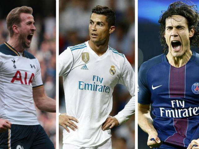 Real tậu Kane – Cavani 250 triệu bảng: Ronaldo trôi vào quên lãng