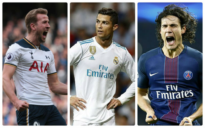 Real tậu Kane – Cavani 250 triệu bảng: Ronaldo trôi vào quên lãng - 1