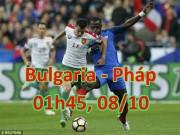 """Bulgaria - Pháp: Không Pogba,  """" Gà trống """"  dễ sa cơ"""