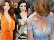 """Phim - Thiên thần vòng 1 khiến các mỹ nữ showbiz """"xanh mặt"""" khi dự sự kiện"""