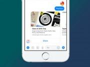 Facebook Messenger đã được tích hợp Apple Music