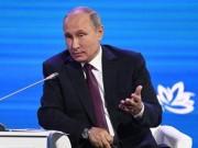 Uy tín của Tổng thống Putin vẫn cao  ngất trời