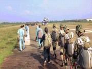 Clip: Giảng đường trên không của những  lính  dù trẻ