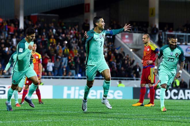 Ronaldo 2 năm ghi gần 1 bàn/trận, thua Messi vẫn xứng 2 bóng Vàng - 1
