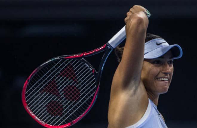 Chung kết China Open: Garcia gây sốc, quật ngã Halep 1
