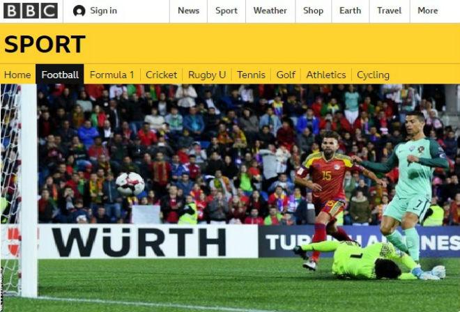 """Ronaldo cứu Bồ Đào Nha: Triệu fan """"dìm"""" Messi, báo chí tung hô"""