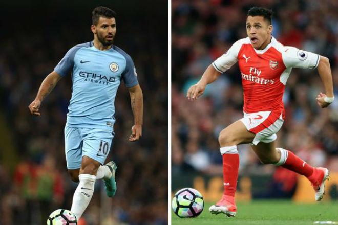 Man City có Sanchez giá rẻ như cho, bán Aguero 80 triệu bảng 1