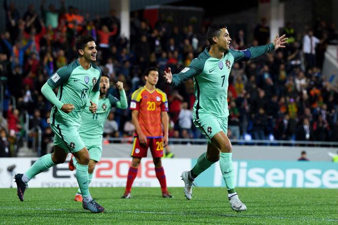 Andorra - Bồ Đào Nha: Ra chân thần tốc, Ronaldo cứu nguy 1