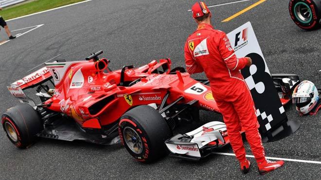 Đua xe F1, phân hạng Japanese GP: Sức mạnh vượt trội, rộng đường đăng quang 1