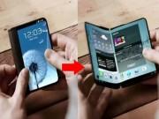Smartphone màn hình gập Galaxy X sắp ra mắt
