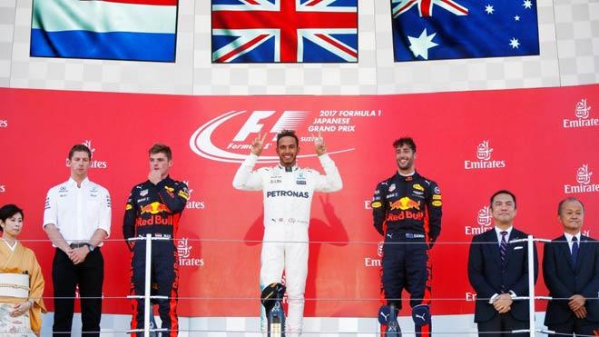 Đua xe F1, Japanese GP: Rớt xuống vực thẳm, nhìn kình địch 1 tay chạm vinh quang 7