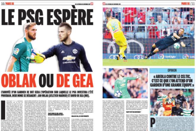 PSG lại chơi ngông: 100 triệu euro mua De Gea, MU – Mourinho lo sợ