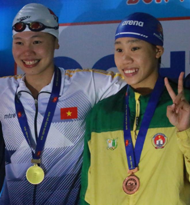 Vũ Thị Phương Anh: Hai lần thắng Ánh Viên 1