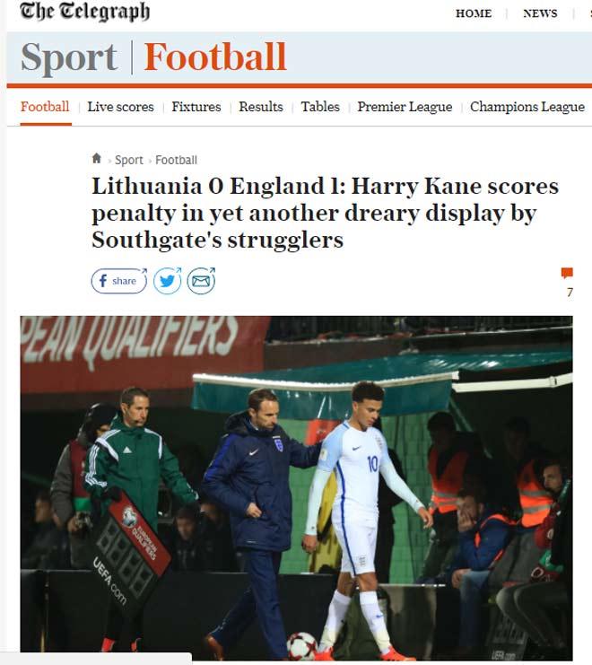 """ĐT Anh dự World Cup với siêu kỷ lục vẫn nhận """"mưa gạch đá"""" - 2"""