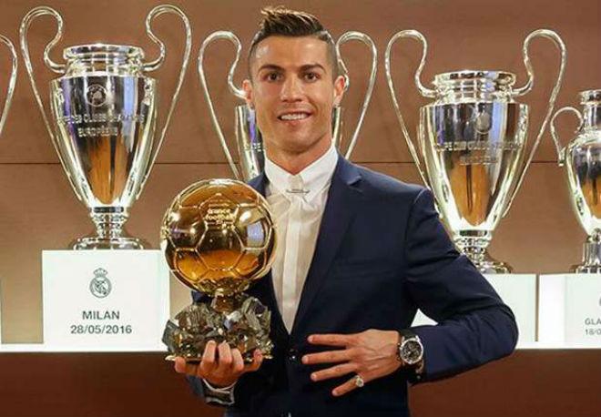 Quả bóng Vàng 2017: Ronaldo đấu 29 SAO, sợ mỗi Messi 46 bàn - 2
