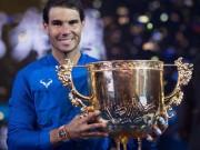 """Thể thao - Nadal vô địch China Open: Vượt Federer, """"số 1"""" tuyệt đối năm 2017"""
