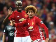 Bóng đá - MU: Lộ lí do chấn thương sốc của Pogba, tin dữ từ Fellaini