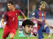 """Bóng đá - """"Gián điệp"""" Barca gặp Ronaldo, lộ chuyện cơ mật của Messi"""