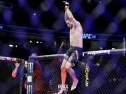 UFC: Vào thế  hổ vồ , 65 giây cuống cuồng xin hàng