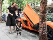 Siêu xe 16 tỷ hàng hiếm của vợ chồng Ngọc Thạch xôn xao cả con phố