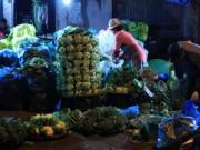 Thị trường - Tiêu dùng - 70% chợ đầu mối, chợ hạng 2 Hà Nội chưa cam kết kinh doanh an toàn