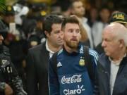 Argentina trước  cửa tử : Messi sợ nôn khan, chơi bóng với… đá