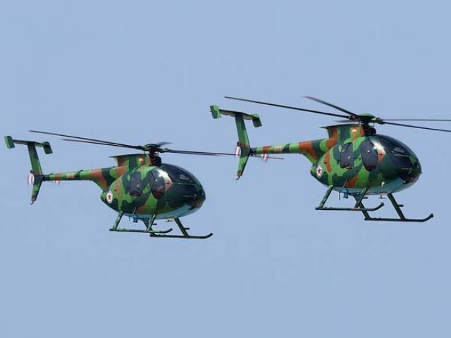 Ấn Độ: 7 người chết thảm vì dây dù mắc vào quạt trực thăng - 2