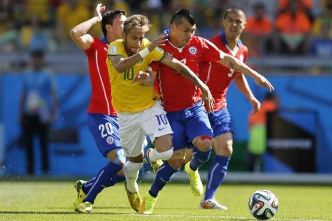 """Nhận định bóng đá Brazil – Chile: Neymar sẽ ra tay """"cứu"""" Messi? - 2"""