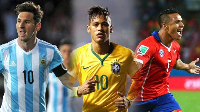 """Nhận định bóng đá Brazil – Chile: Neymar sẽ ra tay """"cứu"""" Messi? - 1"""