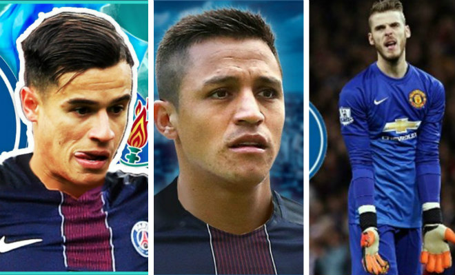 "PSG xây ""Galacticos 1.0"": Nửa tỷ euro mua thêm Sanchez, Coutinho, De Gea - 2"