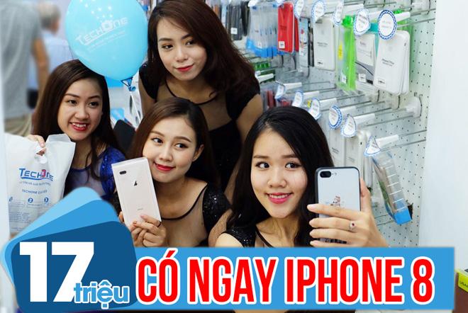 iPhone 8 về giá ổn định, rẻ hơn mua tại Singapore 1.6 triệu - 3