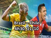 Brazil - Chile: Neymar sẽ ra tay  cứu  Messi?