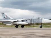 Chiến đấu cơ Su-24 Nga gặp nạn ở Syria, tổ bay tử vong