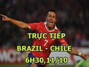 "Chi tiết Brazil - Chile: Sao Man City  "" chốt sổ ""  (KT)"