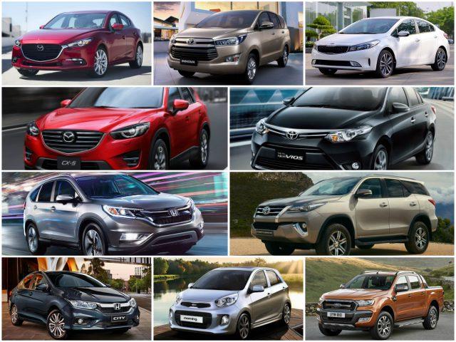 10 mẫu ô tô bán chạy nhất Việt Nam tháng 9/2017 - 1