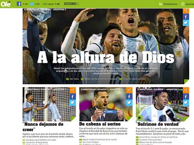Messi - Argentina bỗng tuyệt đỉnh thăng hoa: Nhờ phù thủy làm phép? 5