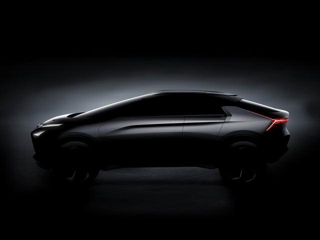 Mitsubishi e-Evolution: Tái sinh Lancer Evo dưới dạng SUV - 1